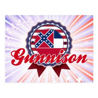 Gunnison, ms tarjetas postales