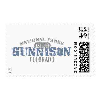 Gunnison National Park Postage