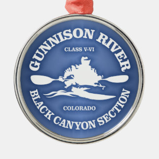 Gunnison River Metal Ornament