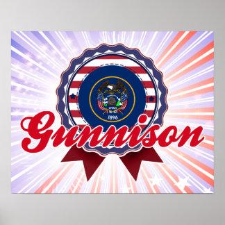 Gunnison, UT Poster