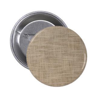 Gunny Textile pattern 2 Inch Round Button