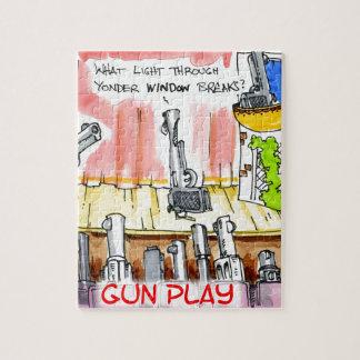 GunPlay Funny Cartoon Puzzle