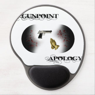 Gunpoint Apology Gel Mouse Pad