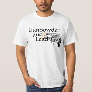 Gunpowder and Lead Revolver Pistol Set T-Shirt