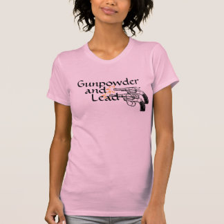 Gunpowder and Lead Revolver Pistol Set T-Shirt