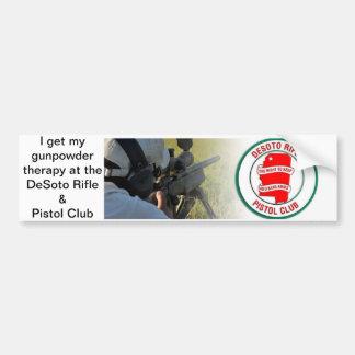 Gunpowder Therapy Bumper Sticker