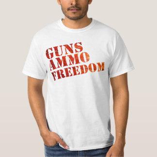 Guns, Ammo, Freedom - eSports T-Shirt