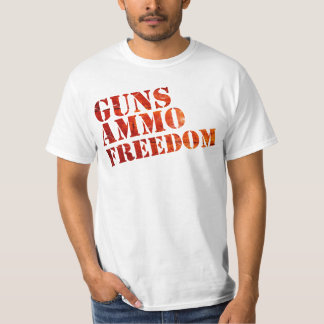 Guns, Ammo, Freedom - eSports Tshirts