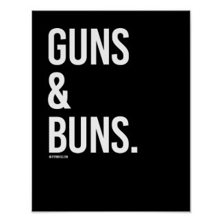 Guns and Buns -   Guy Fitness -.png Poster