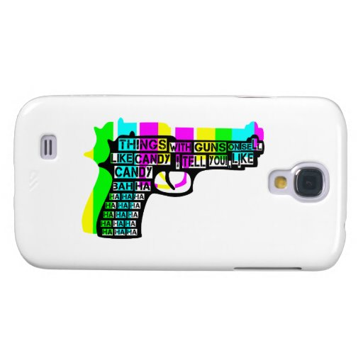 Guns and Candy Samsung Galaxy S4 Covers