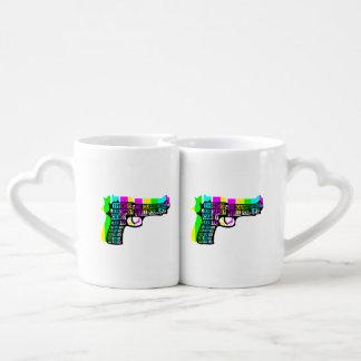 Guns and Candy Coffee Mug Set