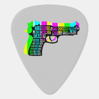 Guns and Candy Guitar Pick