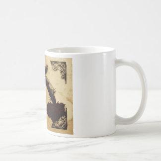 Guns and Roses Classic White Coffee Mug