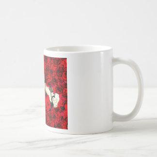 Guns and roses coffee mug