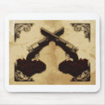 Guns and Roses Mouse Pad