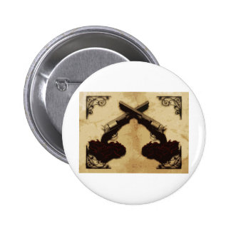 Guns and Roses Pinback Button