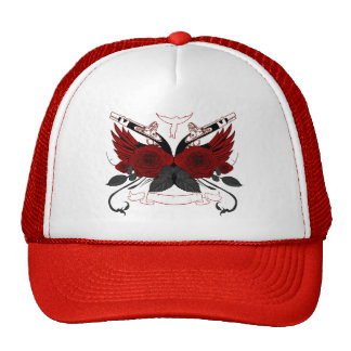 Guns and Roses RED Trucker Hat