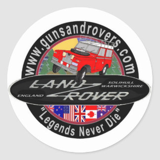 Guns and Rovers Decal Stickers