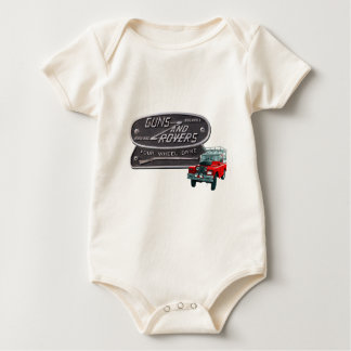 Guns and Rovers Red Rover Bodysuit