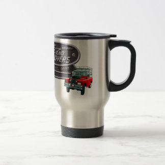 Guns and Rovers Red Rover 15 Oz Stainless Steel Travel Mug
