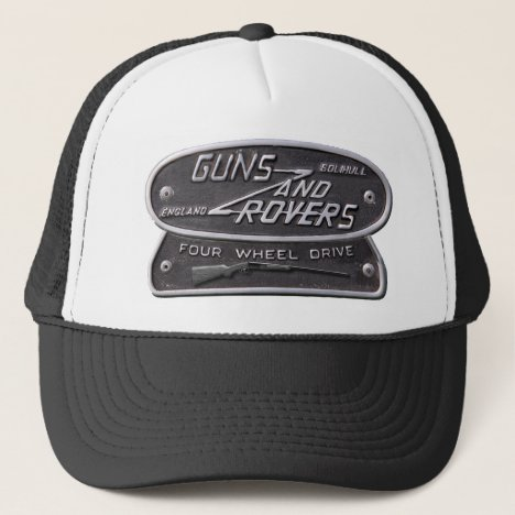 Guns and Rovers Shotgun Logo Trucker Hat
