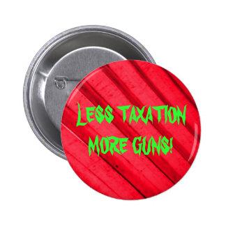 Guns and Taxes Pinback Button