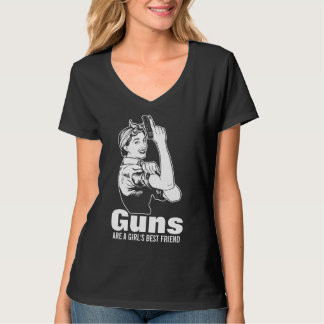 Guns Are A Girls Best Friend Shirt