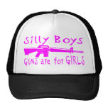 GUNS ARE FOR GIRLS HAT