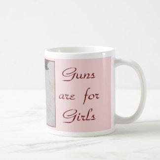 guns are for girls mug 3 a