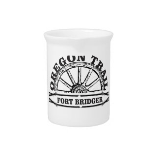guns at fort bridger drink pitcher