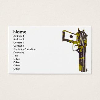 guns camo 3, Name, Address 1, Address 2, Contac... Business Card