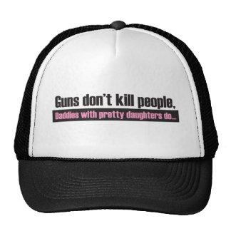Guns Don't Kill People Trucker Hat