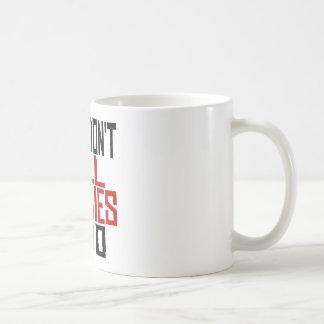Guns Don't Kill Zombies I Do Classic White Coffee Mug