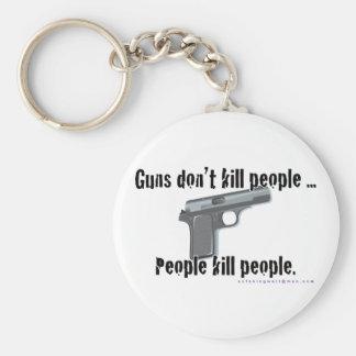 Guns Don't Kill Keychain