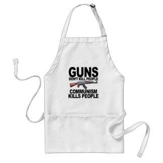 Guns Don't Kill People Communism Kills People #2 T Adult Apron