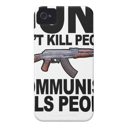 Guns Don't Kill People Communism Kills People #2 T iPhone 4 Cover