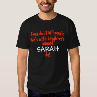Guns Dont kill people... Dad/Daughter T-shirts
