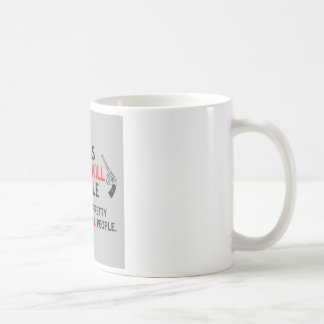 guns dont kill people dads with pretty daughters k coffee mug