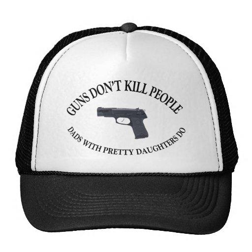 Guns Don't Kill People Mesh Hats