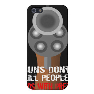 Guns Don't Kill people...Revolver Iphone case iPhone 5 Covers