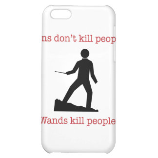 Guns don't kill people. Wands kill people. Cover For iPhone 5C