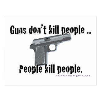 Guns Don't Kill Postcard