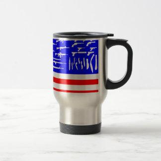 Guns Flag Mug