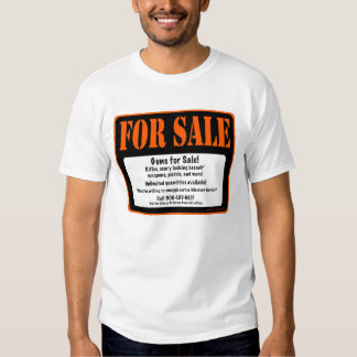 Guns For Sale! Operation Fast and Furious Shirt