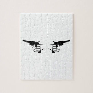 Guns hands jigsaw puzzle