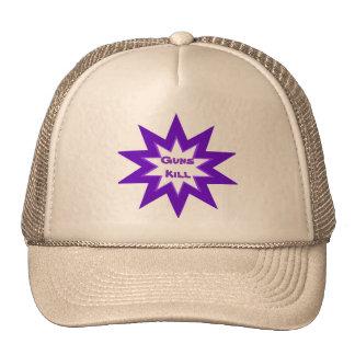 Guns Kill Purple Star Hat