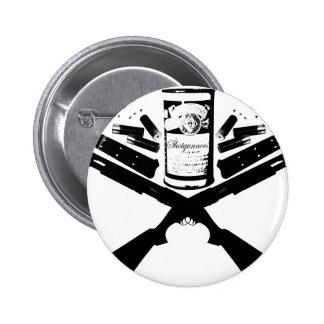 guns&knives pinback button