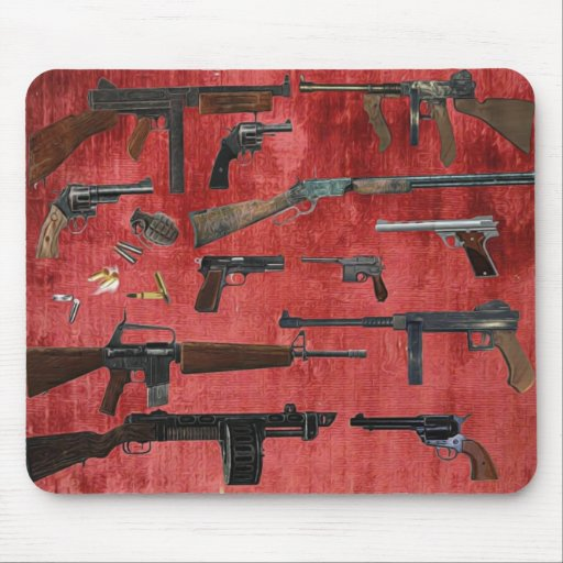 GUNS MOUSE PADS