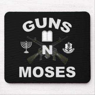 Guns n Moses Dark Mouse Pad