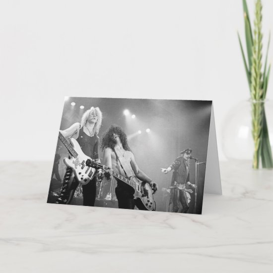 Guns N' Roses | B&W Card